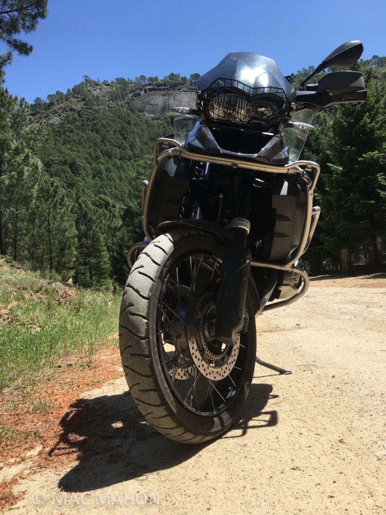 Rutas moto trail por Gredos BMW 3
