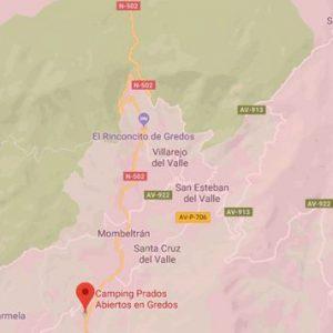 Rutas en moto Maxitrail por Gredos zona